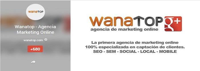 wanatop google plus